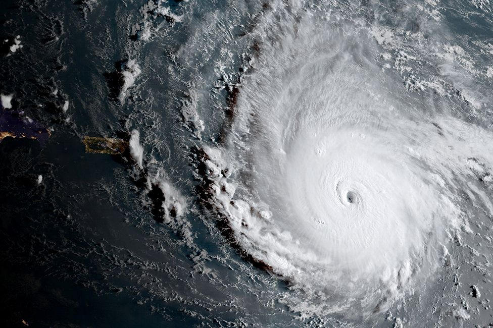 Hurricane Irma, a record Category 5 storm in September 2017