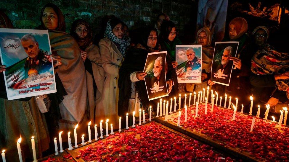 Funeral del general Soleimani