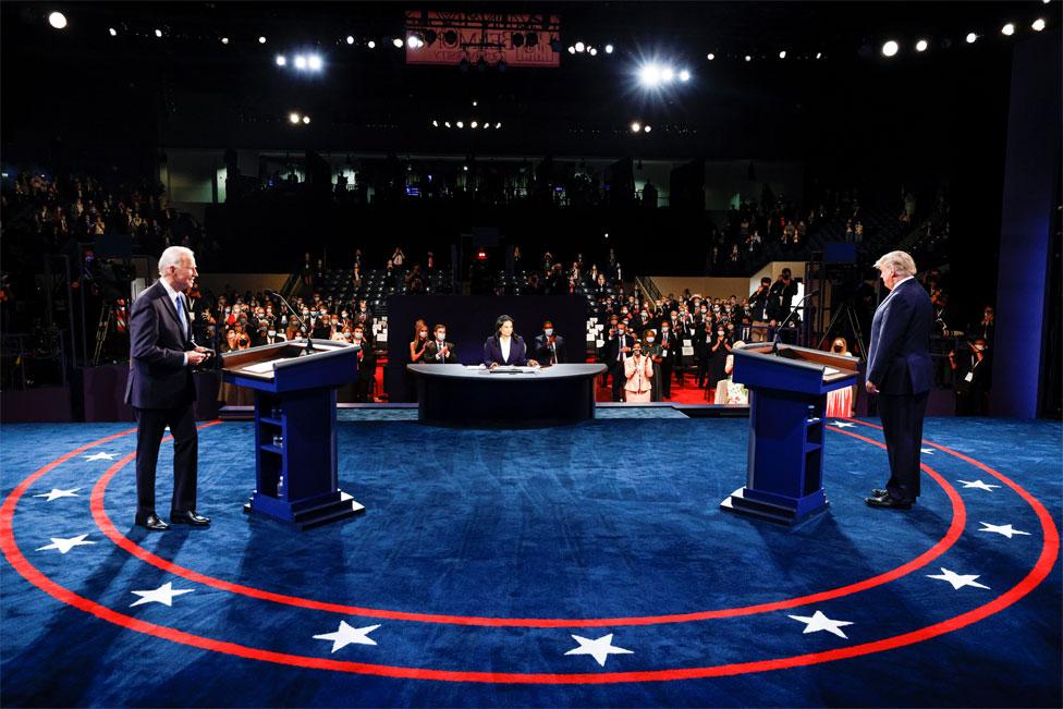 Joe Biden and Donald Trump debate