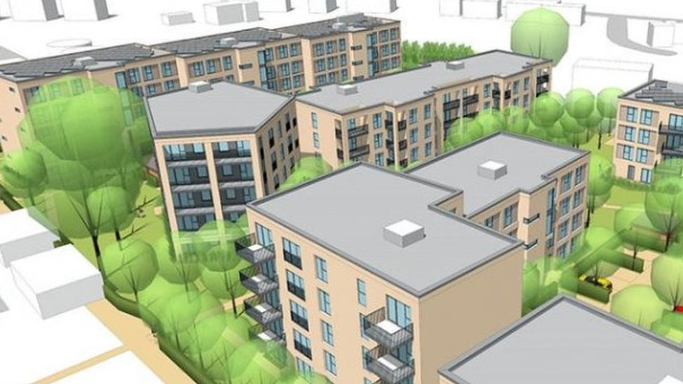 Image of planned flats at Ivy Lane