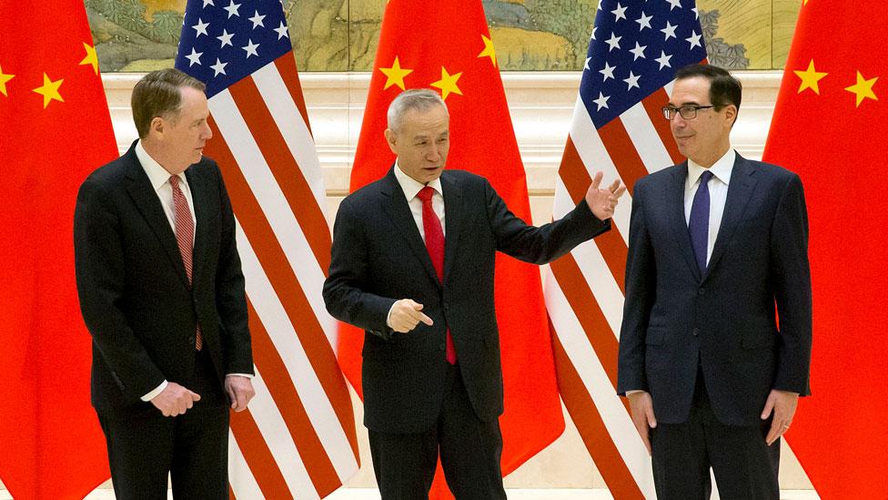 مسؤولون صينيون وأمريكيون