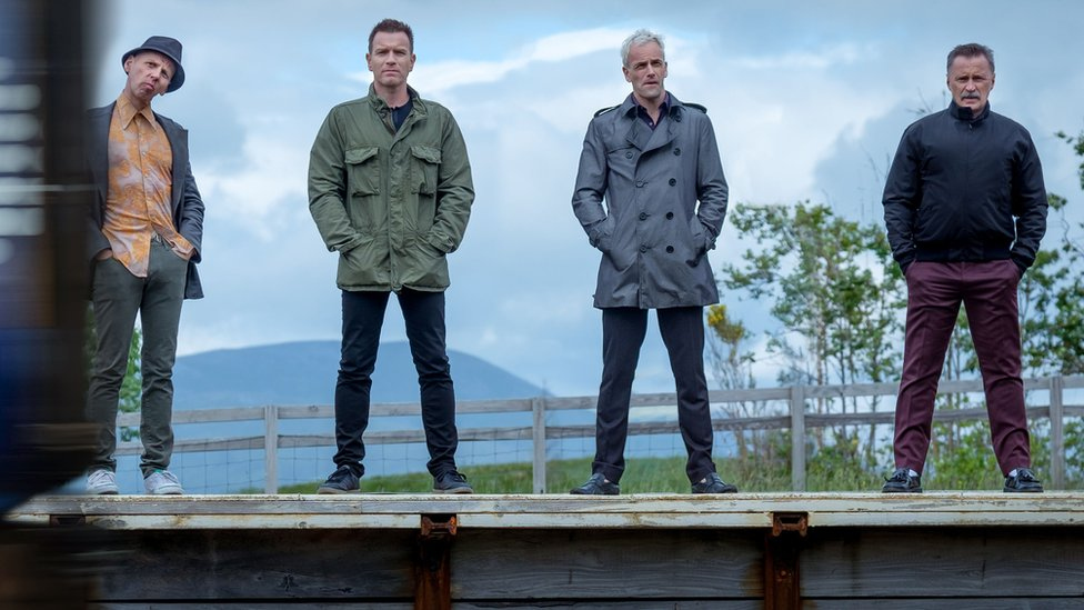 The cast of T2: Trainspotting