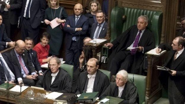انقسام في البرلمان البريطاني