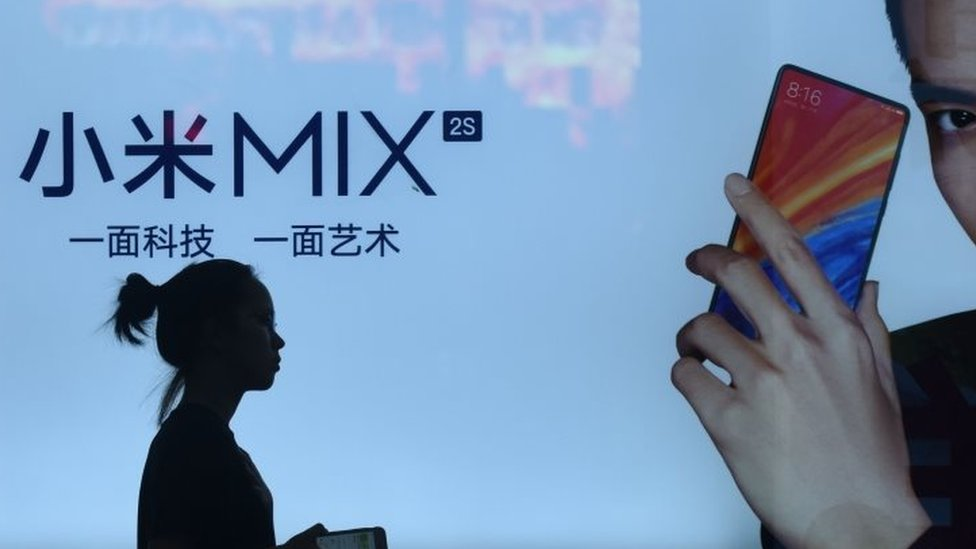 Xiaomi advert