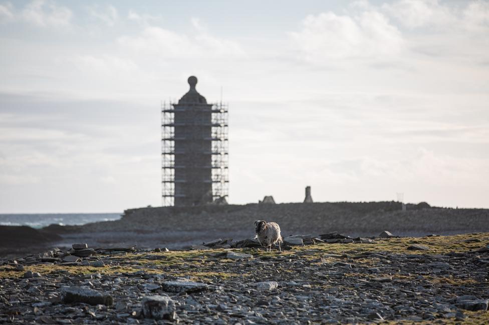 Ruins on North Ronaldsay