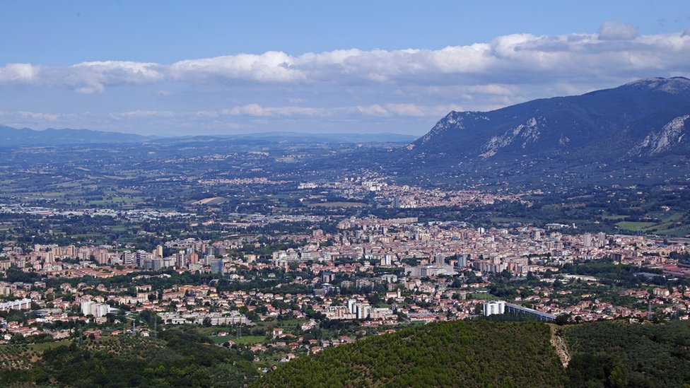 Una vista de Terni