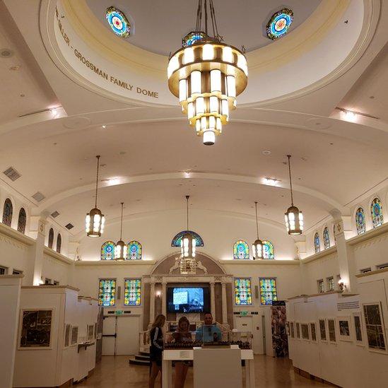 Sede del Museo Judío de Florida.