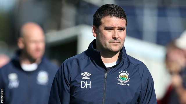 Northern Ireland manager David Healy