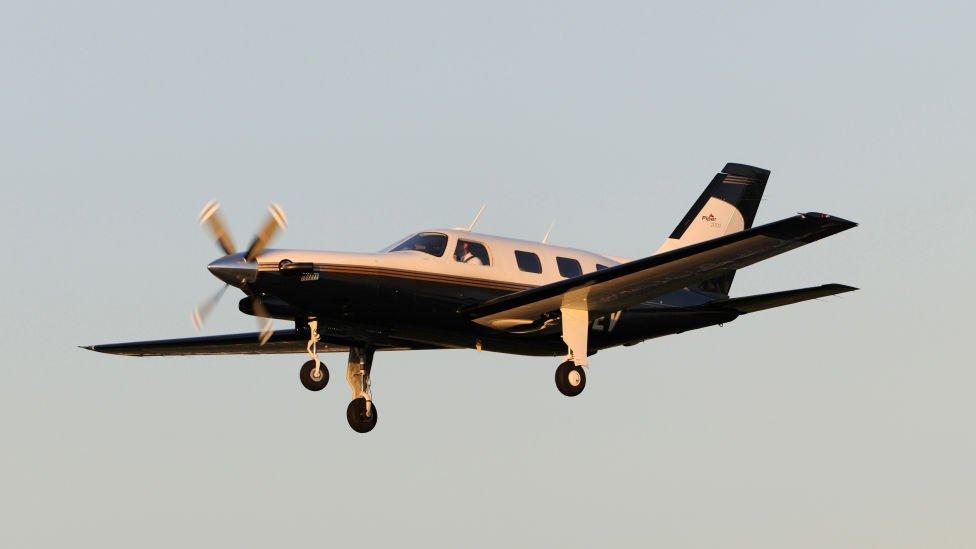 Piper Malibu plane