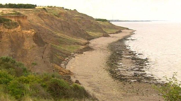 Eastchurch coastline