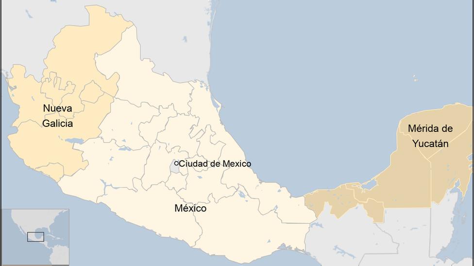 Nueva España central