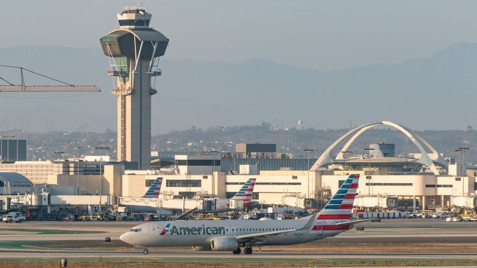 LAX airport. File photo