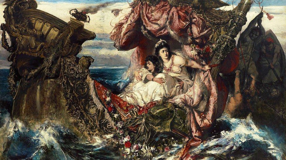 """""""El naufragio de Agripina"""" de Gustave Wertheimer"""