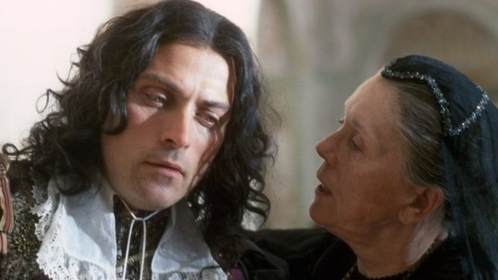 Diana Rigg and Rufus Sewell