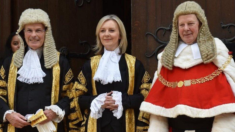 Liz Truss became justice secretary in 2016