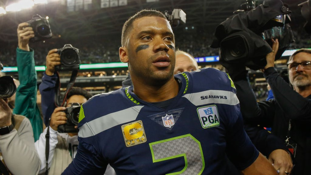 Russell Wilson: Seattle Seahawks quarterback signs NFL's most lucrative deal