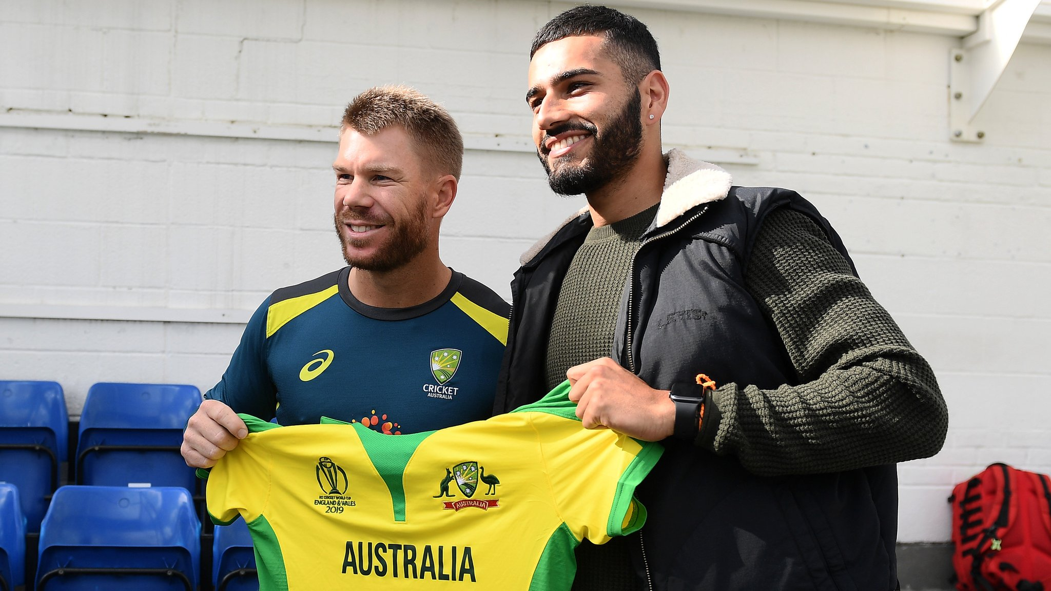 David Warner: Net bowler Jaykishan Plaha on his meeting with Australia batsman