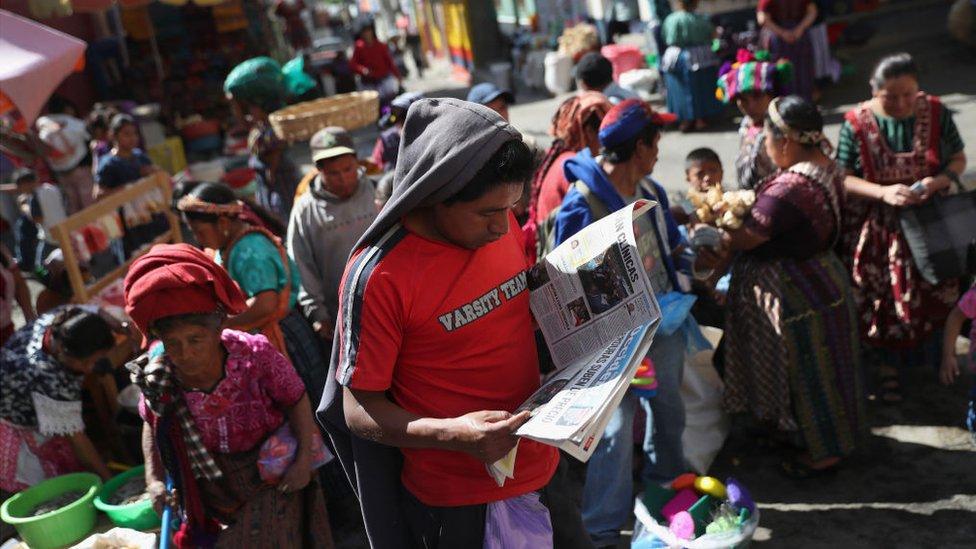 Almolonga, Guatemala