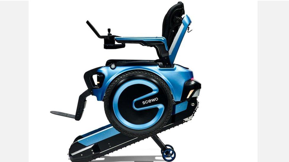 ¿Lograra su diseño cambiar definitivamente la estructura de las sillas de ruedas en el mundo? (Foto: Scewo).