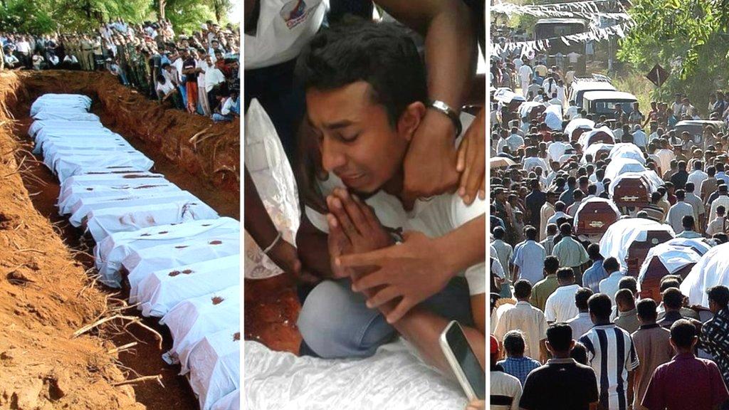 श्रीलंका की इन दर्दनाक तस्वीरों का सच: फ़ैक्ट चेक
