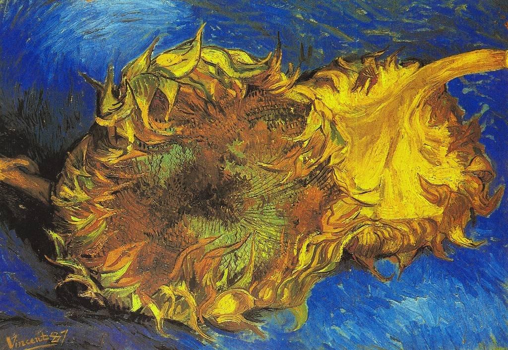 Sunflowers 1887. Vincent van Gogh. MoMA