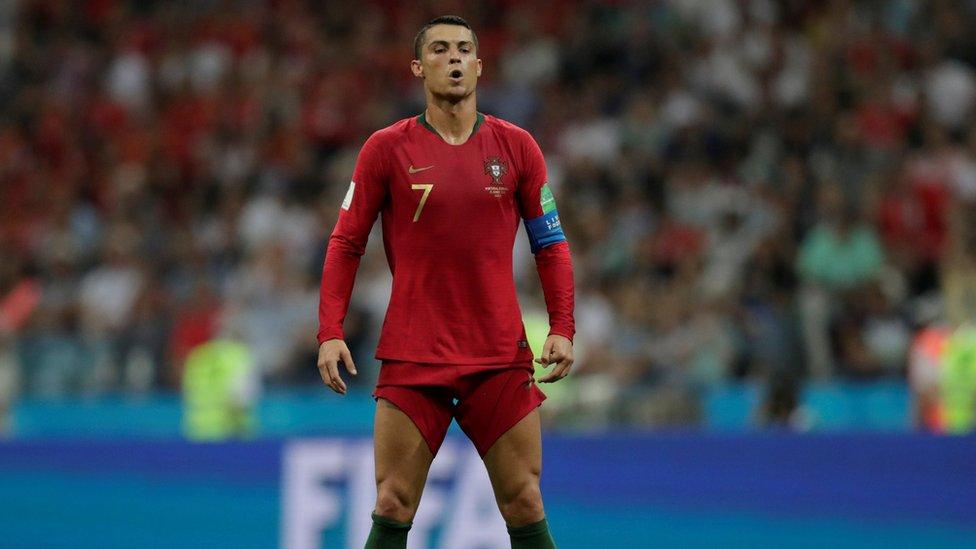 Los números de Ronaldo son previos a su traspaso al Juventus de Turín.