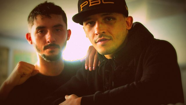Barry's boxing brothers Andrew and Lee Selby