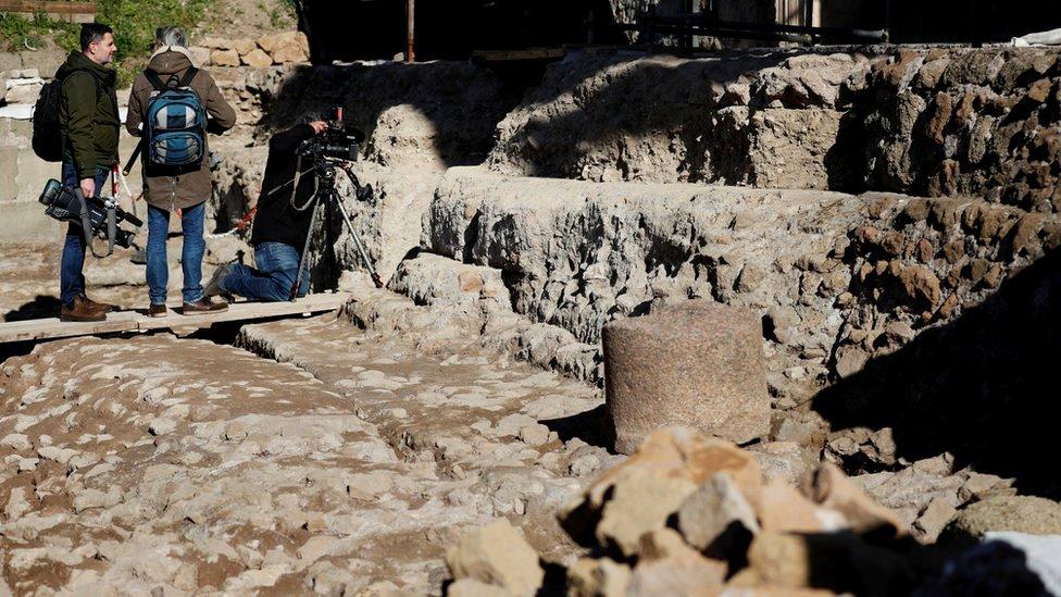 Ulaz u svetilište za koje se veruje da je posvećeno Romulu