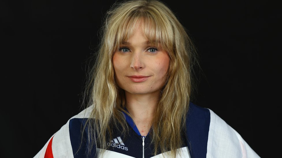 Ciara Horne in her Team GB kit ahead of the 2016 Olympics in Rio