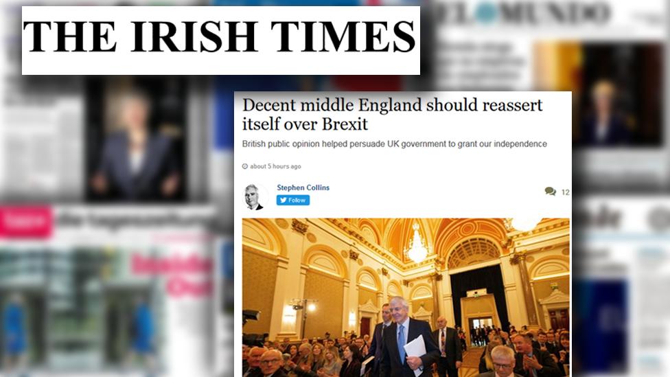 Screengrab from The Irish Times