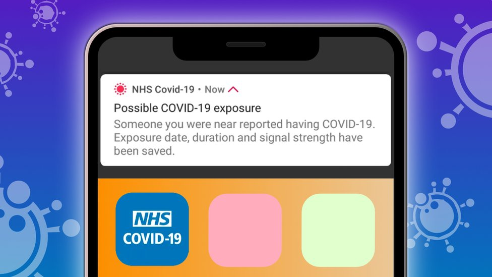 Nhs Covid App Updated To Fix Phantom Messages Bbc News