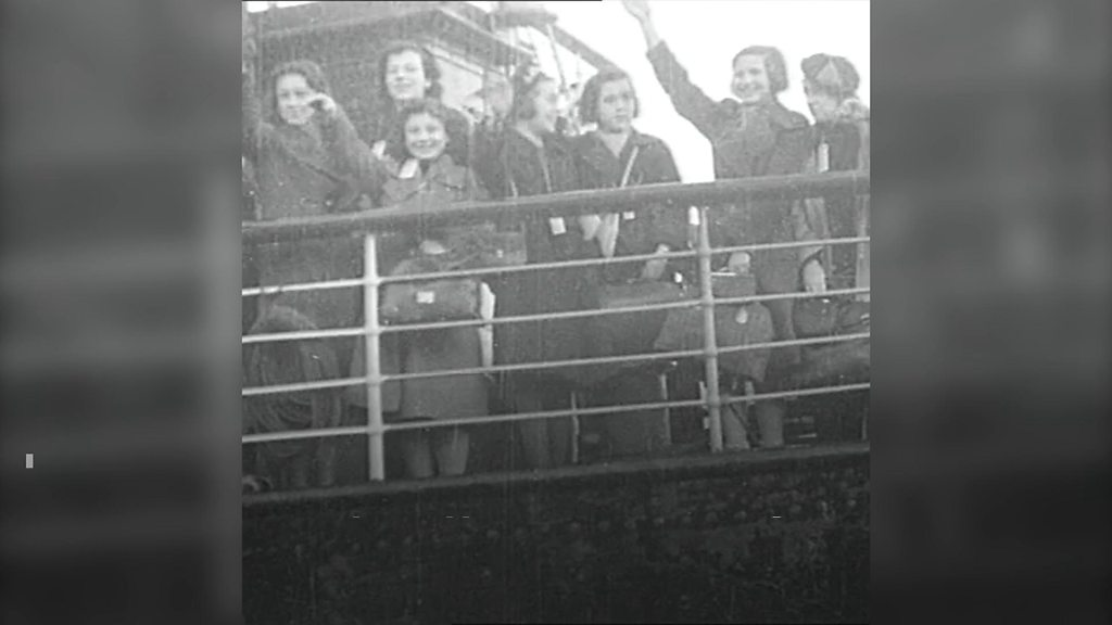 Attlee's foster child meets his grandchildren 80 years on