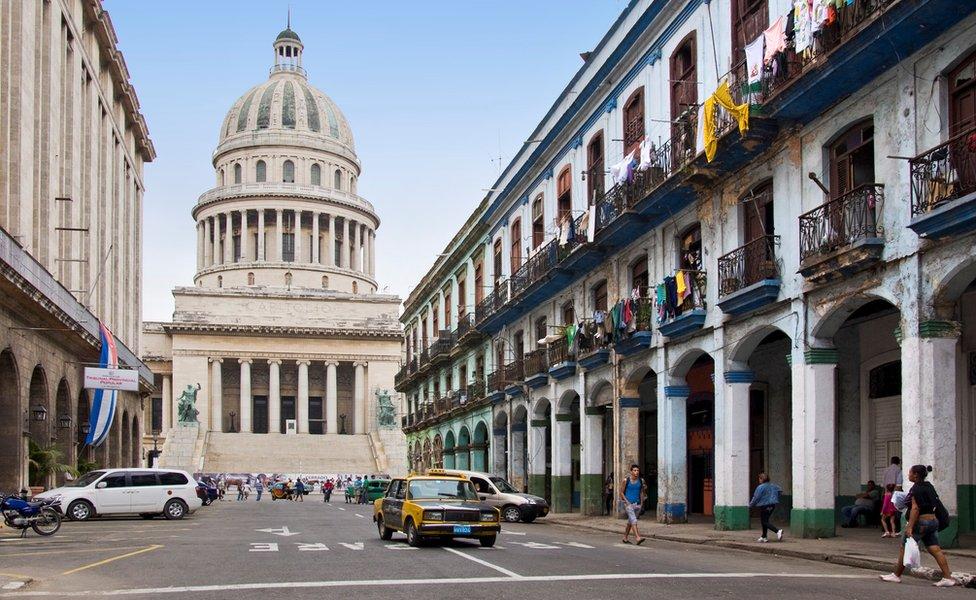 哈瓦那古巴國會大廈
