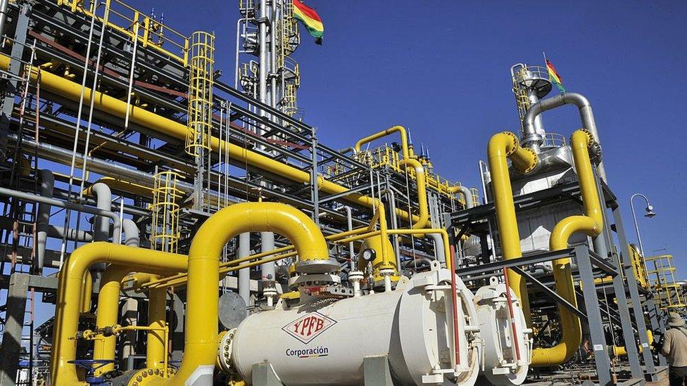 Planta de gas natural, Río GRande, Santa Cruz