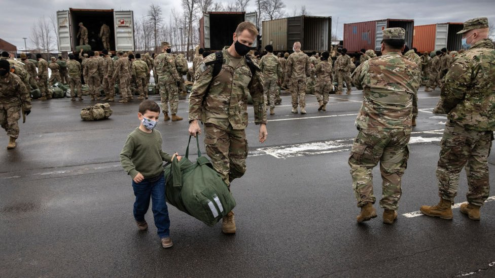 عودة القوات من أفغانستان في وقت سابق من هذا الشهر