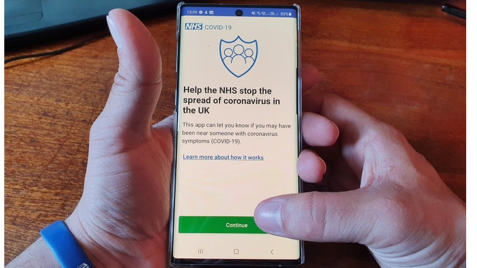 The NHS coronavirus contact tracing app