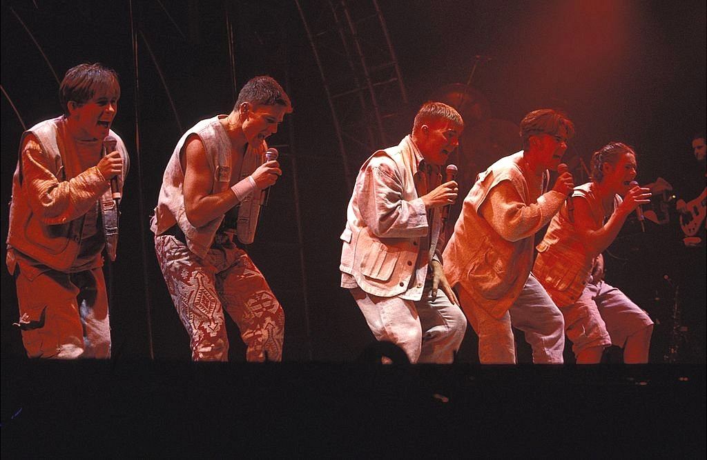 Take That's 1993 Everything Changes Tour