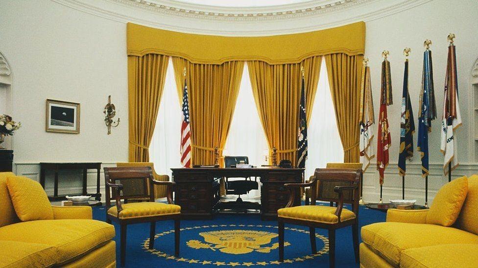 1969年的橢圓形辦公室照片(Credit: Getty Images)