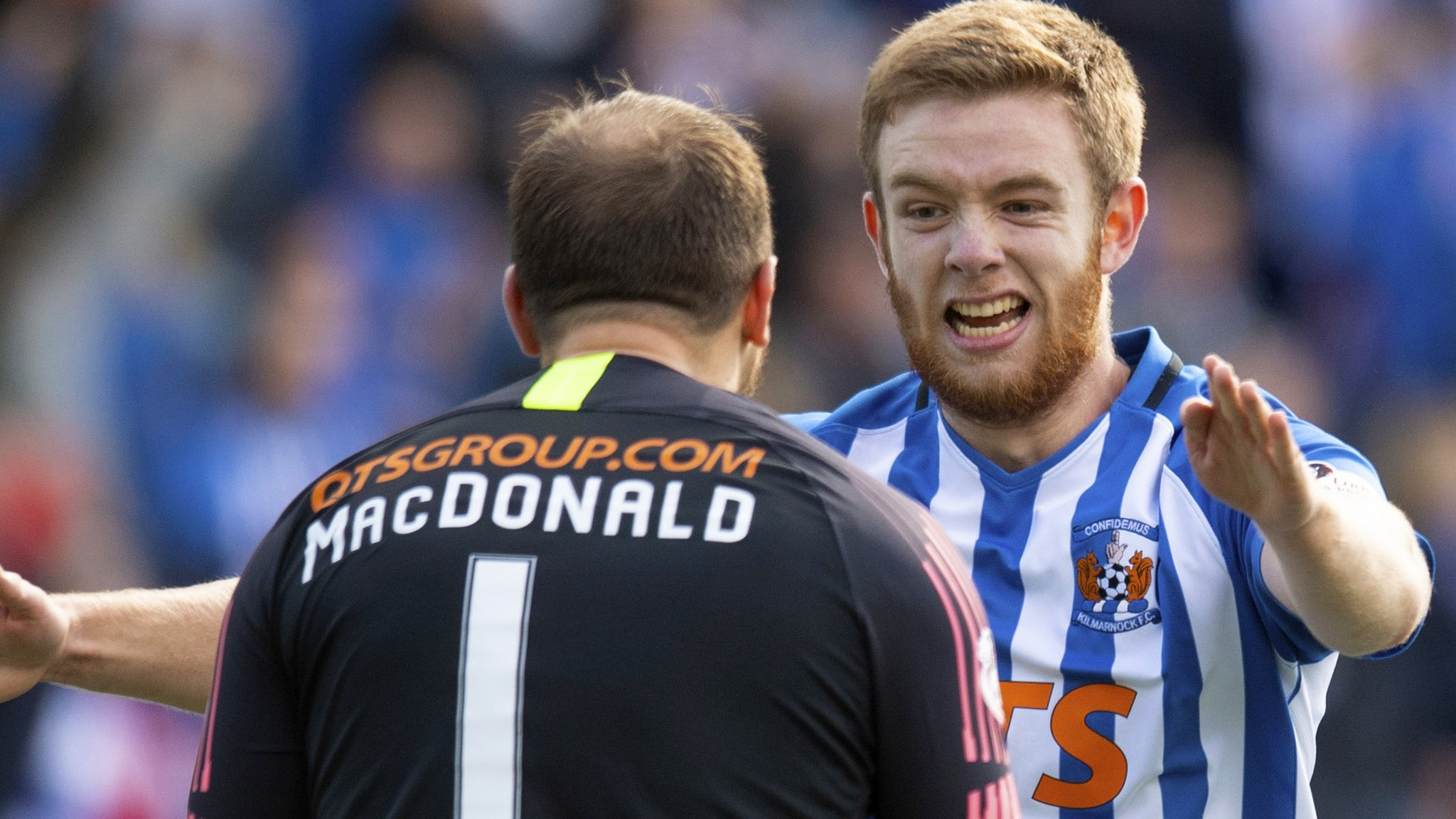 Kilmarnock 2-1 Celtic: Findlay header earns Killie dramatic win over champions
