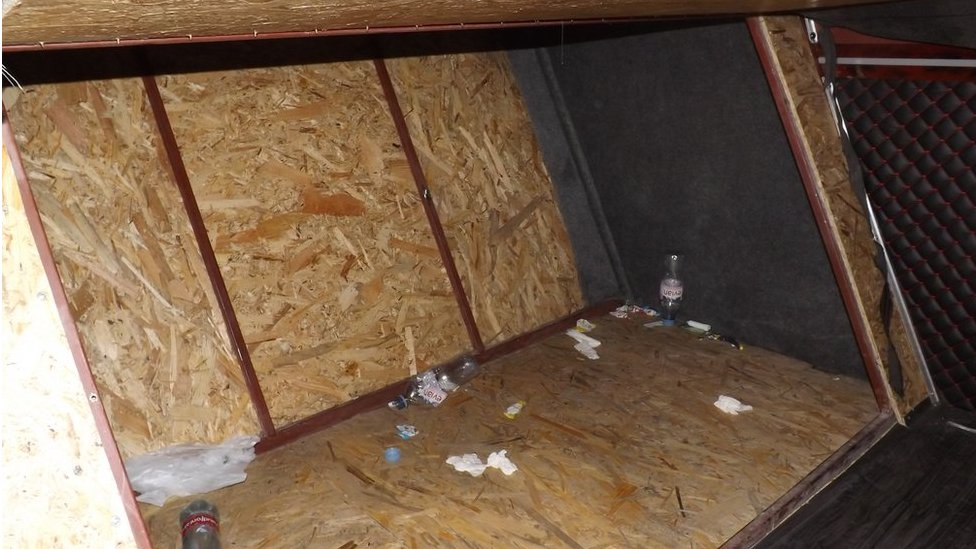 Hidden compartment people smuggler jailed