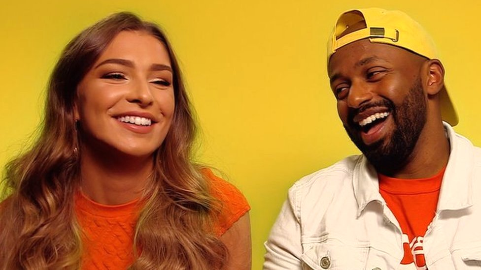 Brexit blind dates: Zara McDermott and Magid Magid
