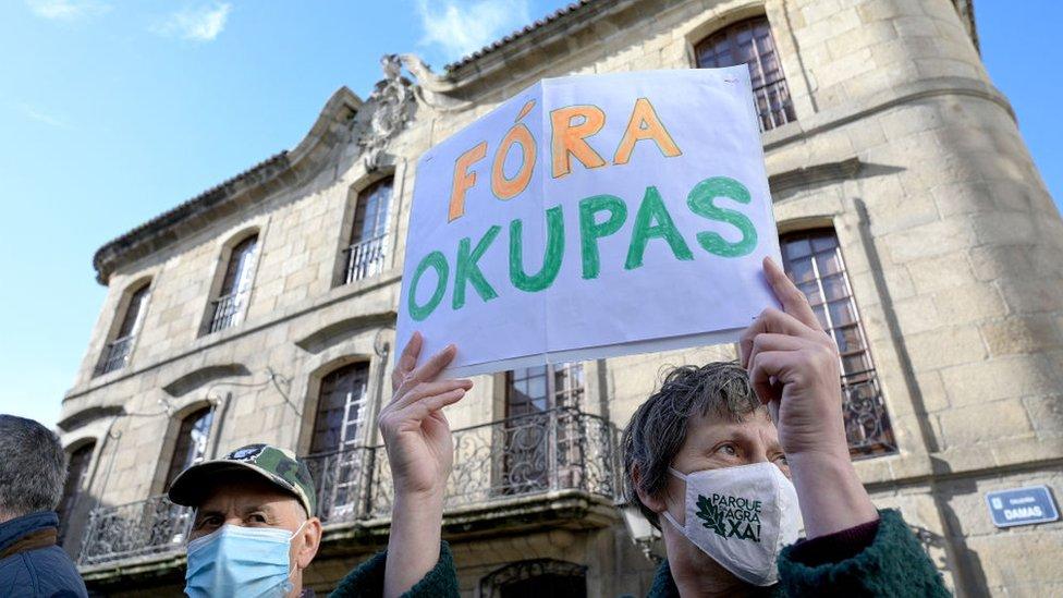 Protesta en España