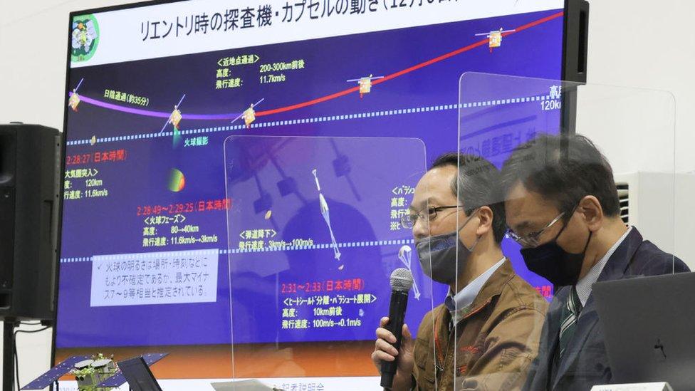 Japonya Havacılık ve Uzay Araştırma Ajansı'nın (JAXA) Hayabusa2 proje yöneticisi Yuichi Tsuda
