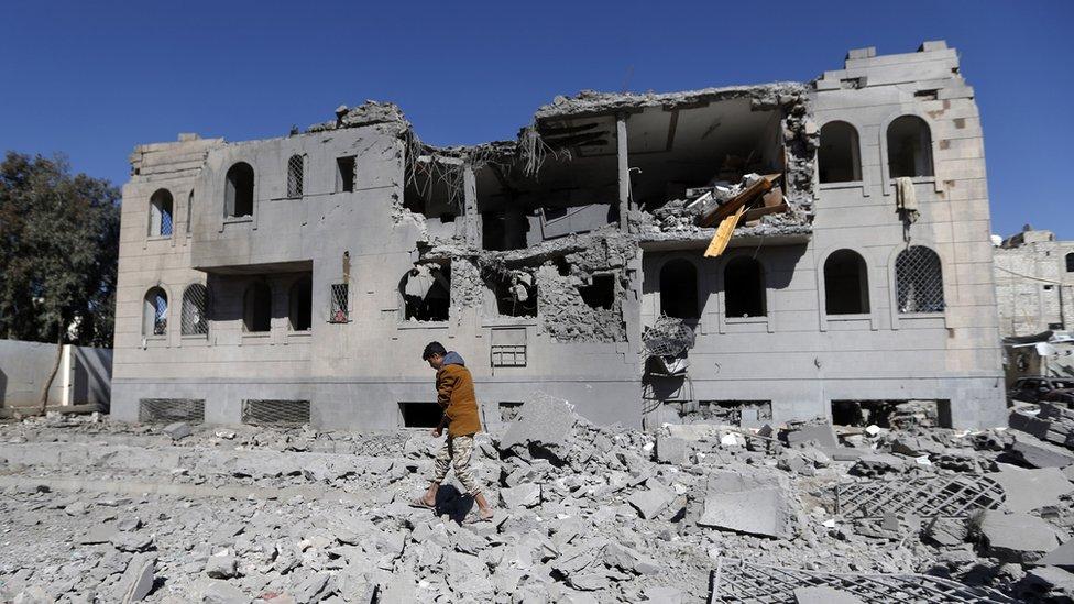 Los hutíes, que cuentan con el apoyo de Irán, se enfrentan en Yemen a fuerzas de Arabia Saudita, un aliado de Estados Unidos.