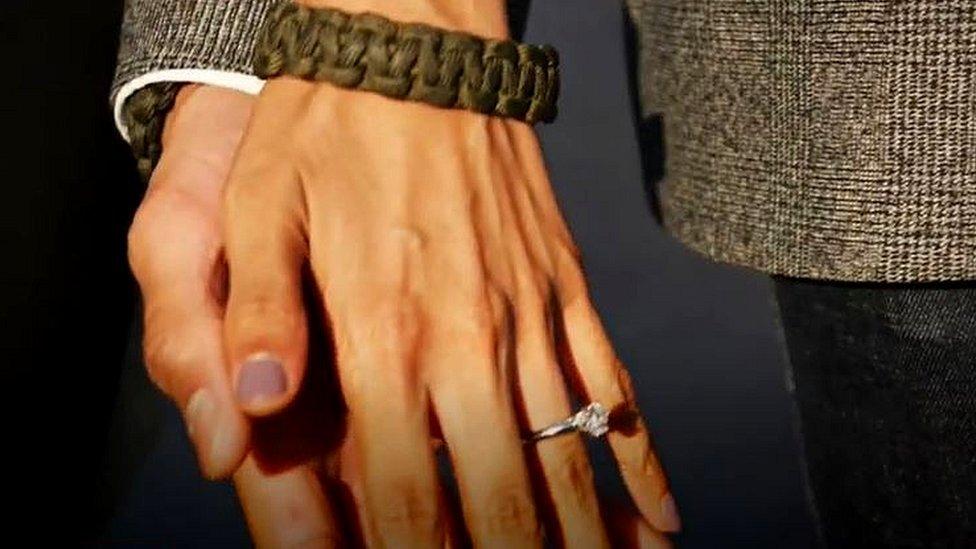 Piriyah's engagement ring