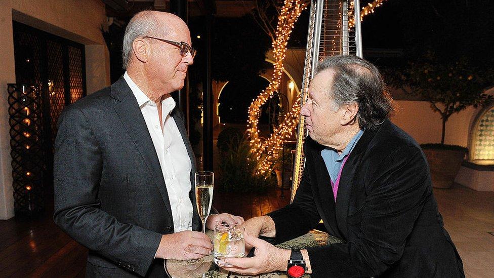 Jeff Berg y Fred Rosen