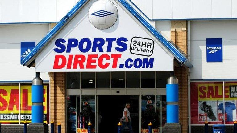 Sports Direct breaks into US market