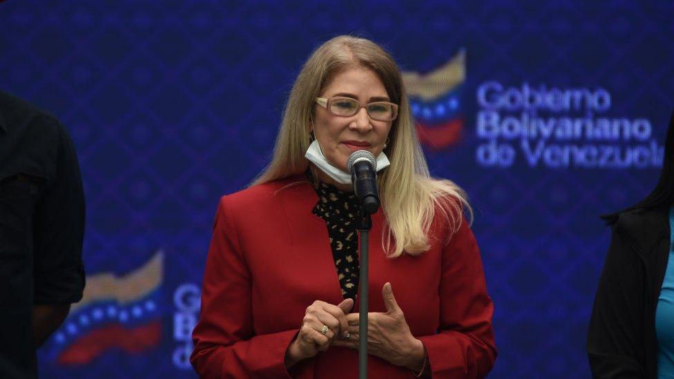 Cilia Flores.