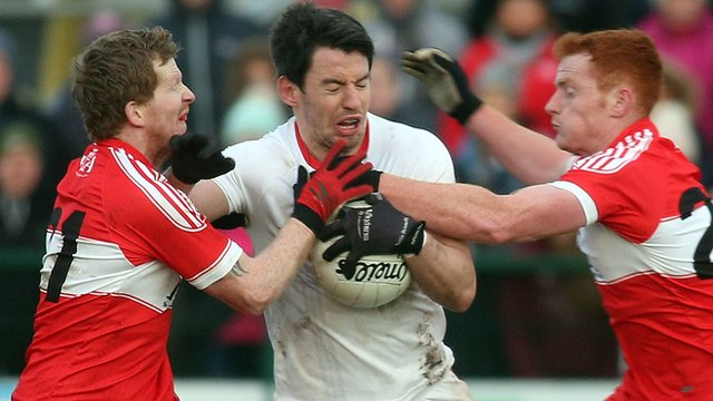 Tyrone came back from nine points down to beat Derry