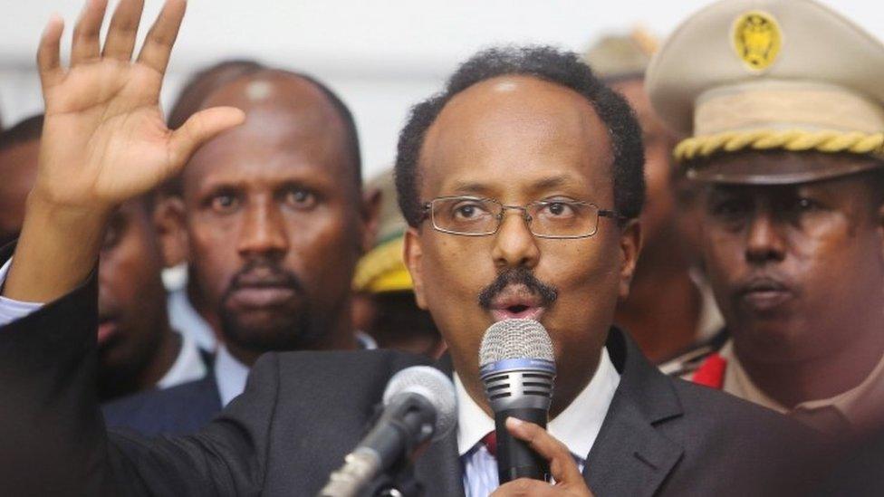 """الرئيس الصومالي محمد عبد الله """"فارماجو"""""""